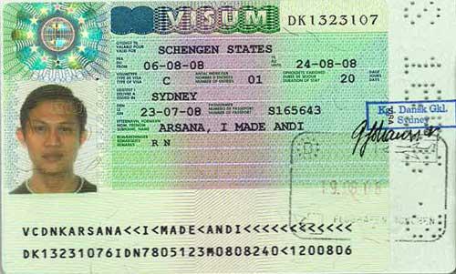 Schenen Visa