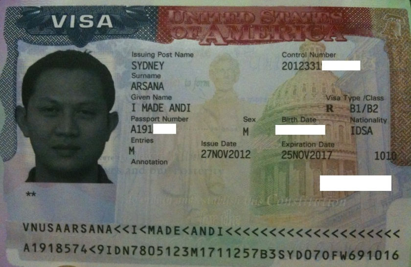 The US Visa