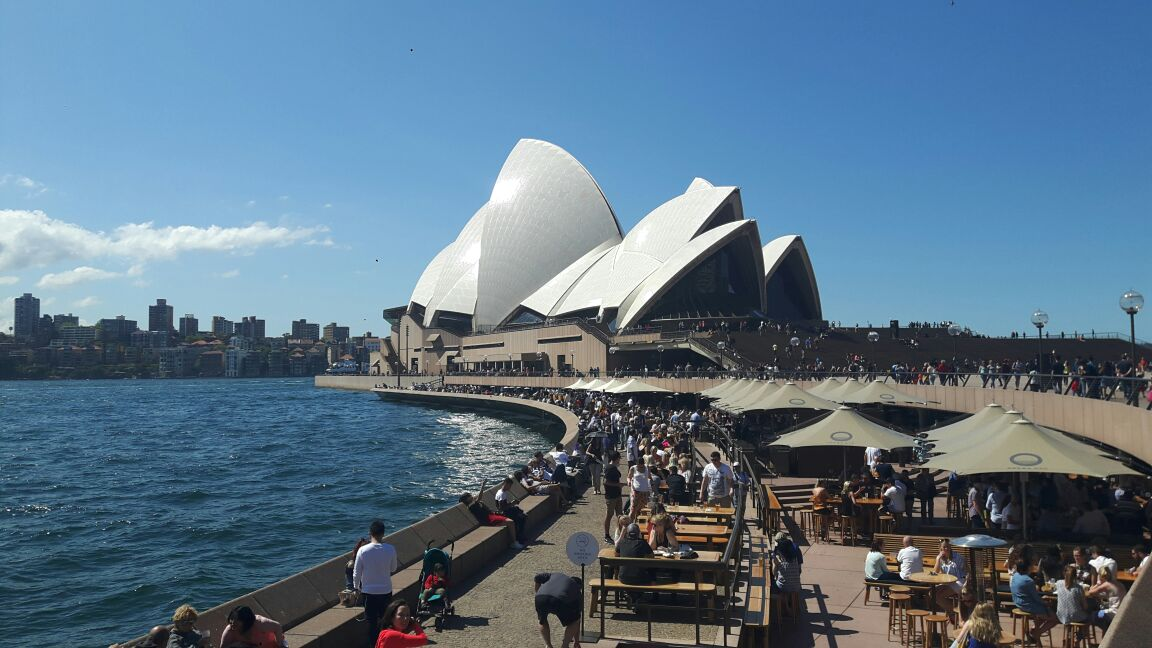 Kembali ke Sydney