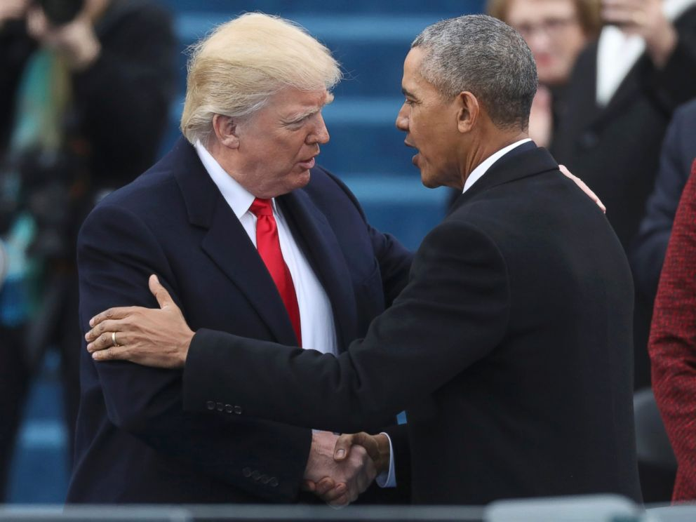 Farewelling Obama, Welcoming Trump