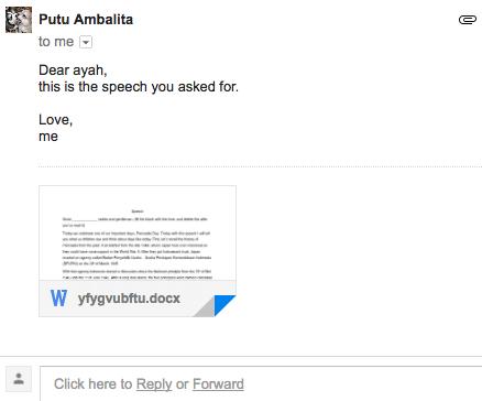 Lita's Mission: Writing aSpeech!