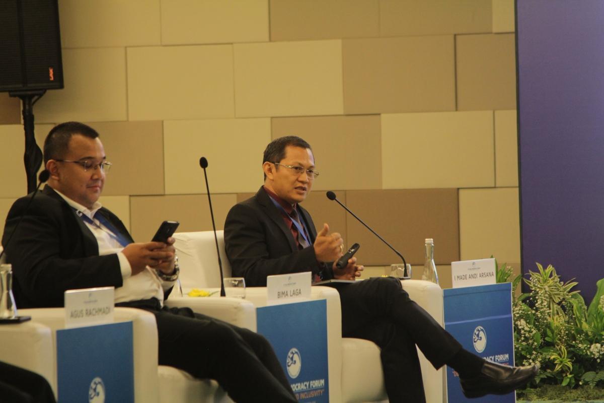 Tampil di Bali Democracy Forum2019